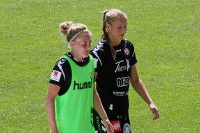 Hanna Sandström och Therese Ivarsson