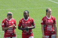 Selina Henriksson, Faith Ikidi och Andrea Norheim