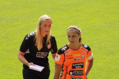 Elisabet Gunnarsdottir och Alice Nilsson