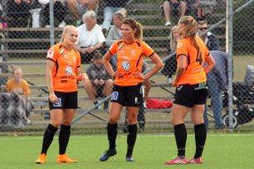 Klara Andrup, Klara Rybrink och Lina Gerhardsson