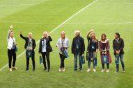 Sjögran, Sandell Svensson, Bengtsson, Andersson, Sundhage, Westberg, Moström och Törnqvist.