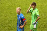 Iryna Vasylyuk och Kateryna Samson