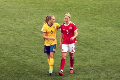 Magdalena Eriksson och Janni Arnth Jensen