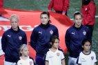 Caroline Seger, Zecira Musovic och Nathalie Björn