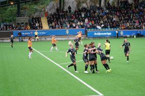 Pauline Hammarlund har gjort 1-0