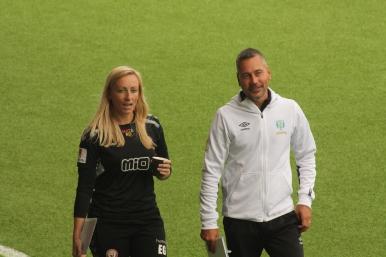 Elisabet Gunnarsdottir och Marcus Lantz