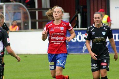 Paulina Nyström och Vilde Bøe Risa.