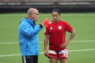 Stellan Carlsson och Fernanda Da Silva.