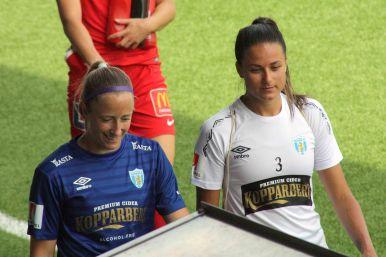 Loes Geurts och Beata Kollmats.