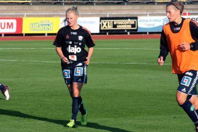 Wilma Thörnkvist och Lina Hurtig