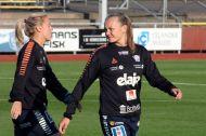 Mimmi Larsson och Frida Maanum
