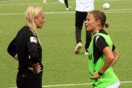 Elisabet Gunnarsdottir och Sif Atladottir