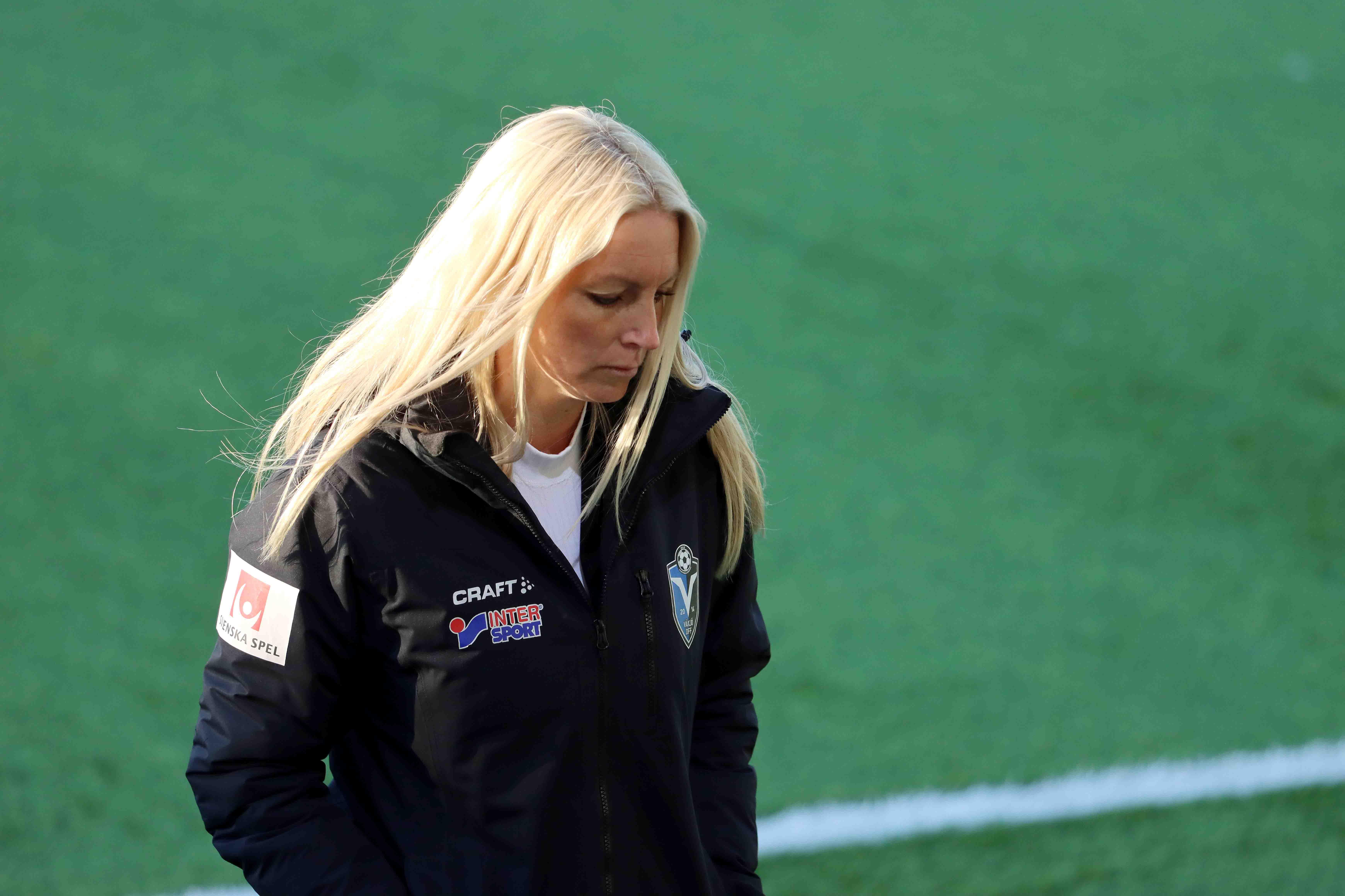 Maria Nilsson sol i håret